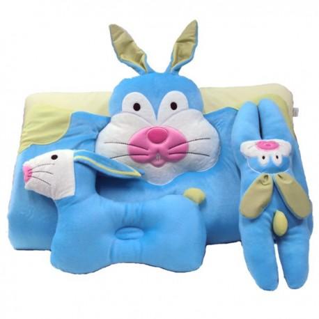 ที่นอนปิคนิครูปสัตว์ ผ้ากำมะหยี่ ลายกระต่าย