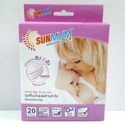 ถุงเก็บน้ำนมแม่ทานตะวัน (SunMum)